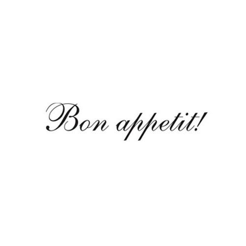 Naklejka Bon Appetit