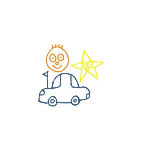 Naklejka Auto