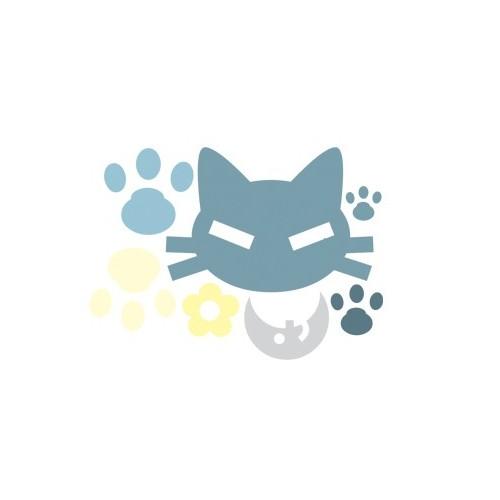 Naklejka Kot