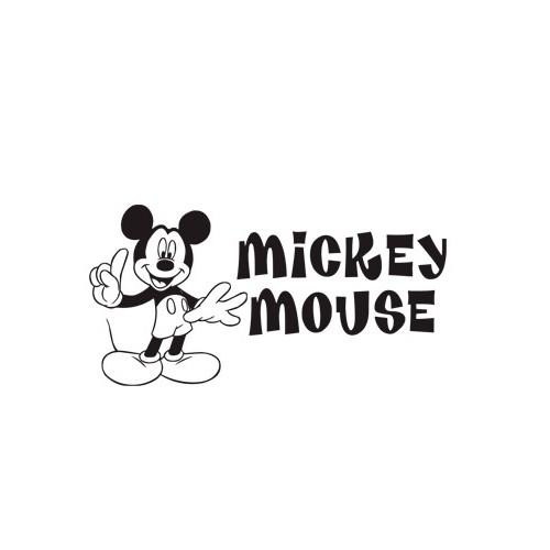Naklejka Miki